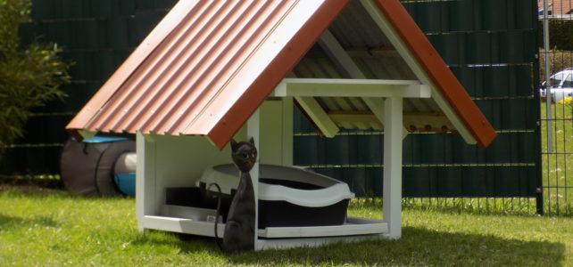 Katzenklo, ja das macht die Katze froh :-)